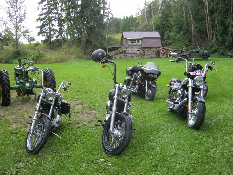 Harleys at Chase Creek Cattle Co.