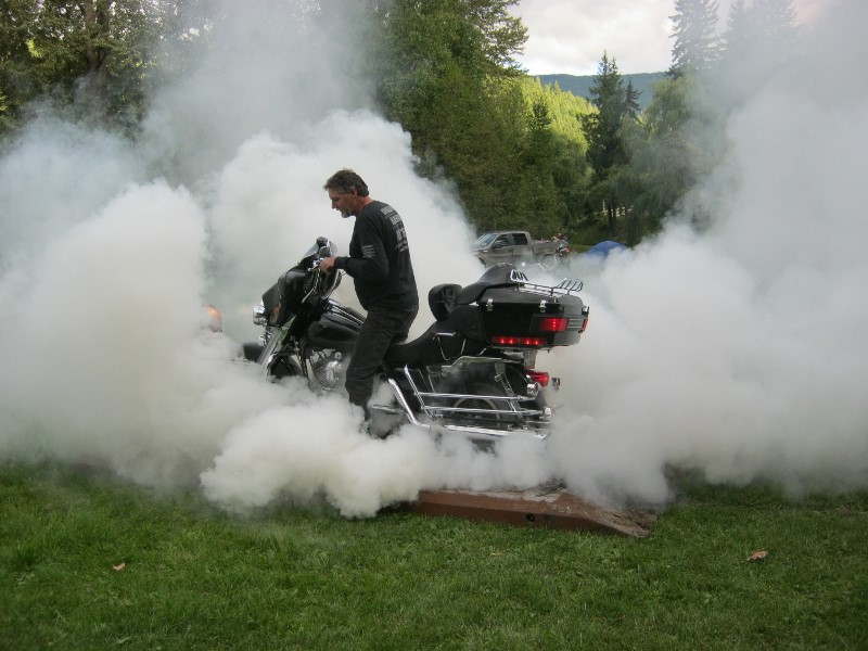 John and burnout contest