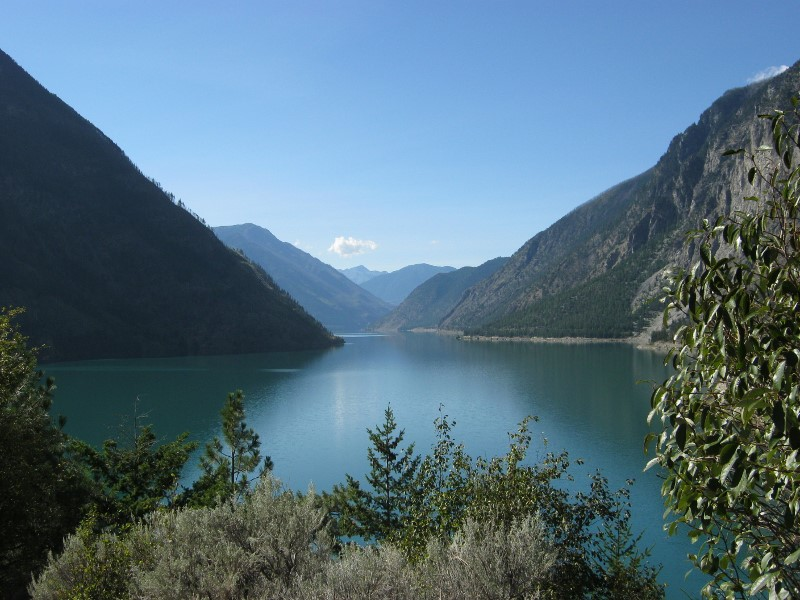Seton Lake on Duffey Lake Road