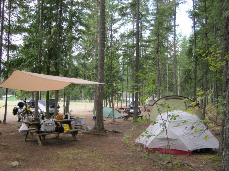Nakusp camp site