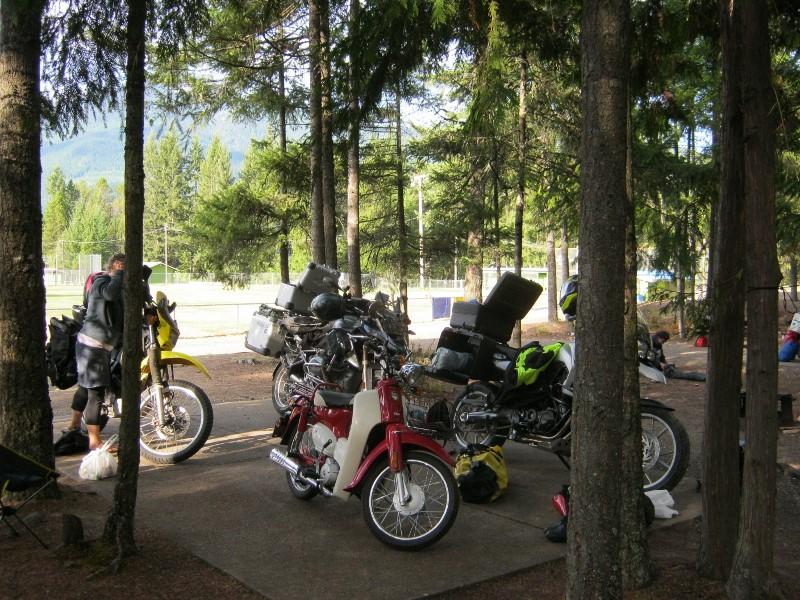 Symba with big bikes