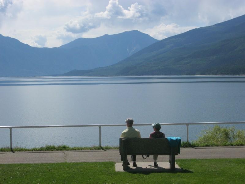 Upper Arrow Lake at Nakusp