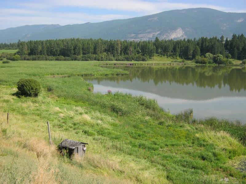Otter Lake, north of Vernon