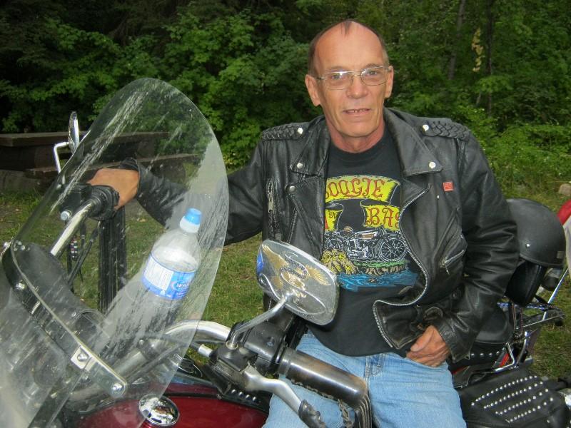 Frank, Harley rider